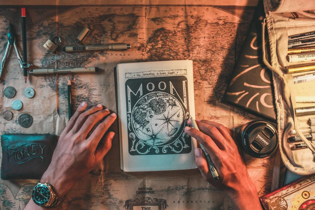 Map-and-scrapbook-ways-to-make-writing-more-playful-writing-tips-writing-inspiration-susan-shiney