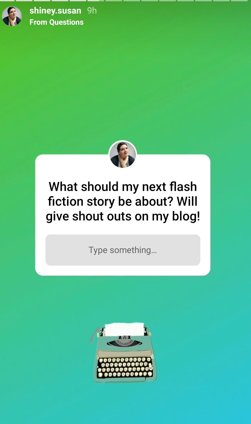 Instagram-Story-Question-to-readers-for-a-prompt-fantasy-Halloween-Story-Kombucha-Keyboardist-pied-piper-retelling-fairy-tale-susan-shiney-fantasy