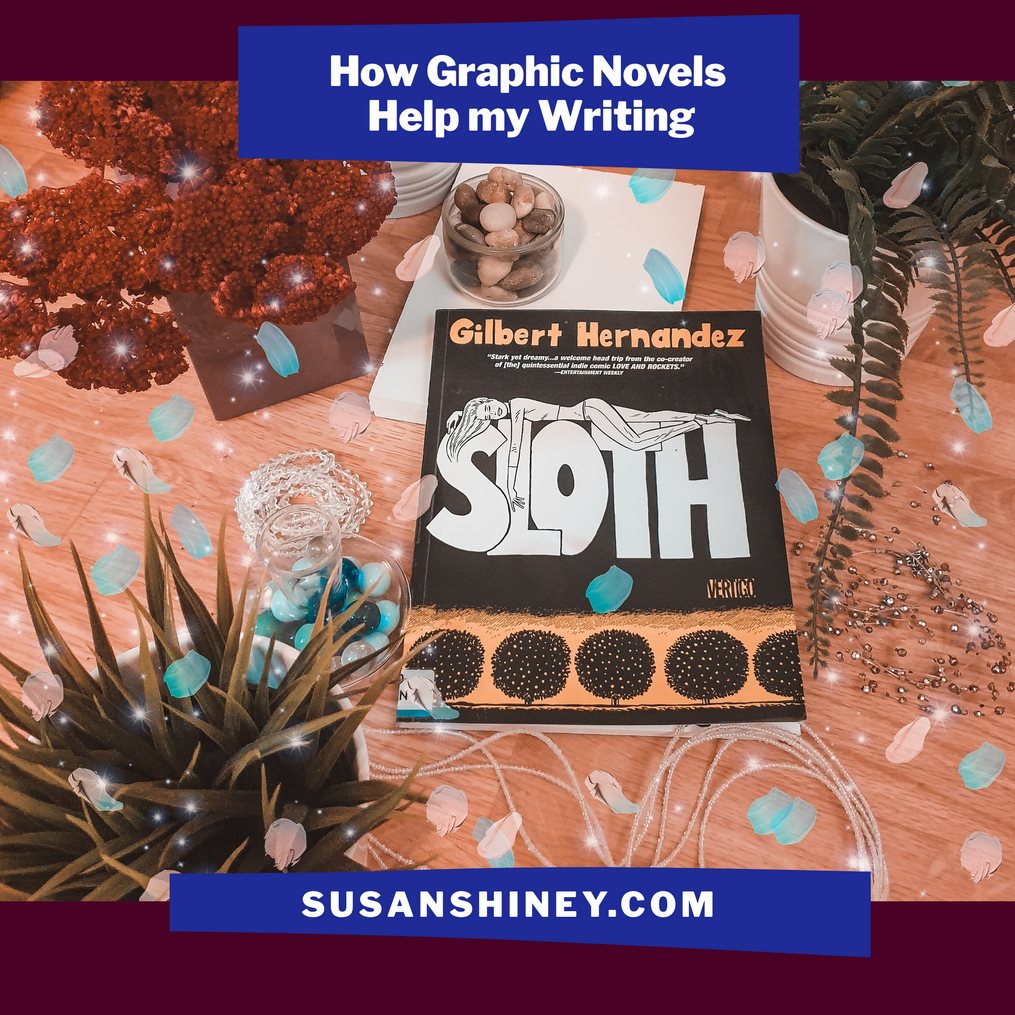 Featured-Image-sloth-by-gilbert-hernandez-bookstagram-how-graphic-novels-help-my-writing-susan-shiney-why-read-graphic-novels